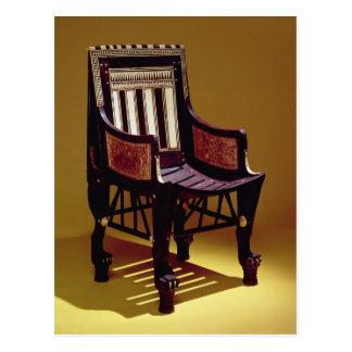 Barns stol, från graven av Tutankhamun Vykort