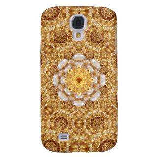 Bärnstensfärgad Mandala Galaxy S4 Fodral