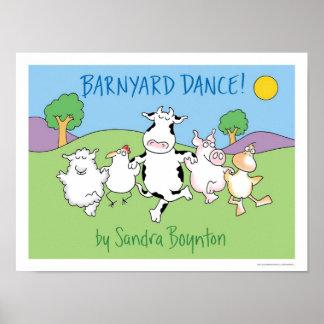 BARNYARDDANS! affisch av Sandra Boynton