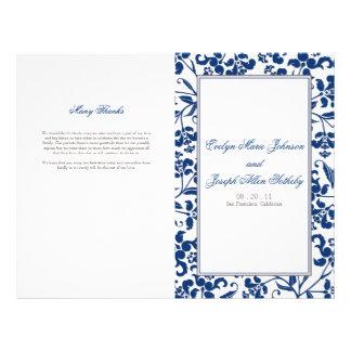 Barock bröllopsprogram