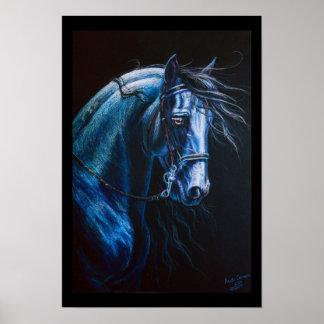 Barock häst poster