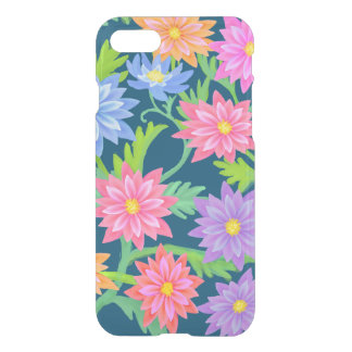 Barocka klart fodral för blommigtträdgårdiPhone 7