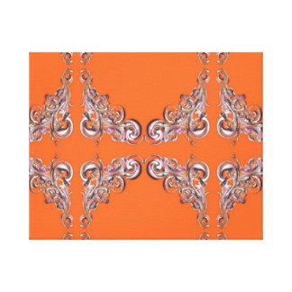 barockt mönster canvastryck