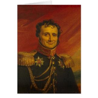 Baron Antoine-Henri Jomini, vid George Dawe Hälsningskort