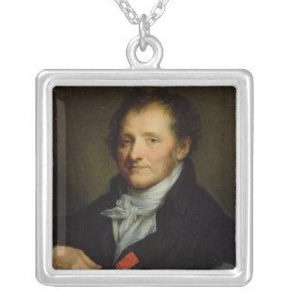 Baron Dominique Vivant Denon Silverpläterat Halsband