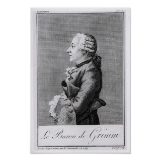 Baron Friedrich Melchior Grimm Poster