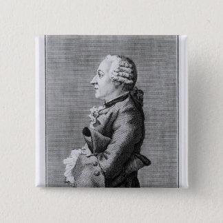Baron Friedrich Melchior Grimm Standard Kanpp Fyrkantig 5.1 Cm
