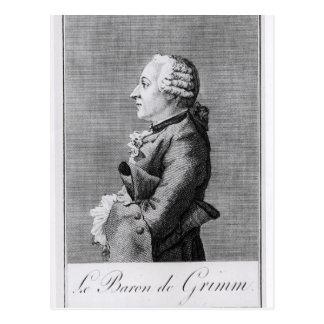 Baron Friedrich Melchior Grimm Vykort