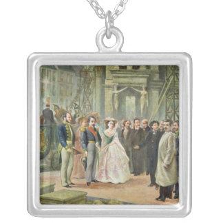 Baron Georges-Eugene Haussmann Silverpläterat Halsband
