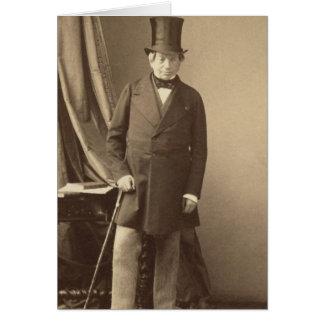 Baron James Rothschild Hälsningskort