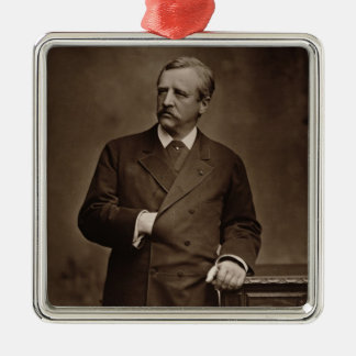 Baron Nils Adolf Erik Nordenskjold (1832-1901), fr Julgransprydnad Metall