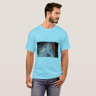 Barracuda/bläckfisk T-shirts