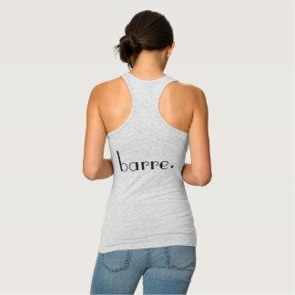 barre. skjorta t-shirt