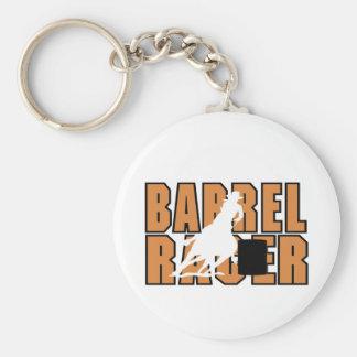 Barrell RacerT-tröja och Gifts. Rund Nyckelring