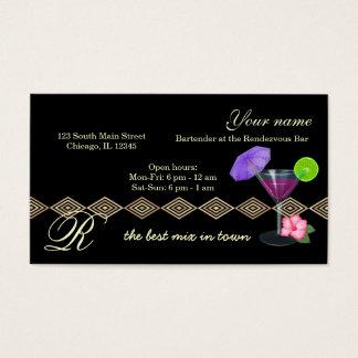 Bartender-/ägarepub Visitkort