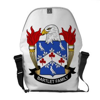 Bartlet familjvapensköld messenger bag