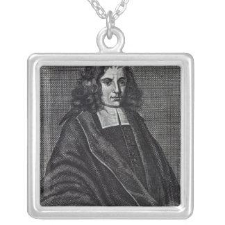 Baruch de Spinoza Silverpläterat Halsband