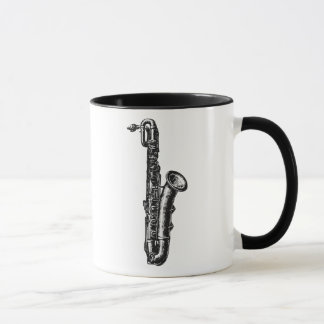 Baryton- saxofon mugg