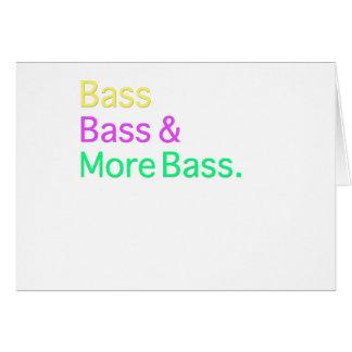 Bas- bas & mer bas- hälsningskort