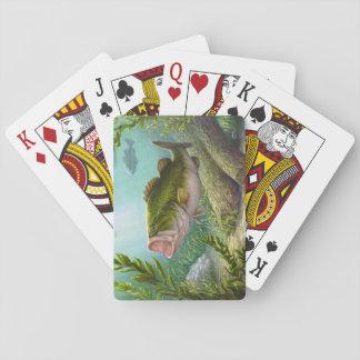 Bas- fisk spelkort