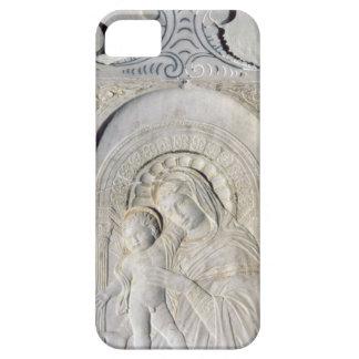 Bas-lättnad av en Madonna och ett barn (marmor) iPhone 5 Cover