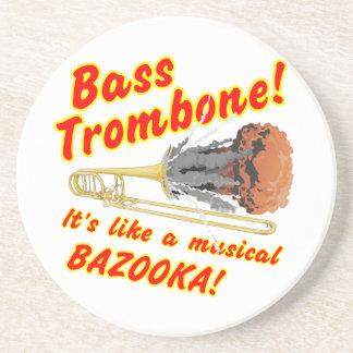 Bas- TrombonemusikalBazooka Underlägg Sandsten