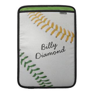 Baseball_Color Laces_go_gr_autograph stil 1 MacBook Sleeve