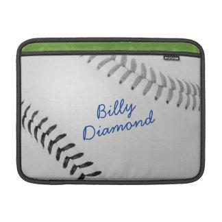 Baseball_Color Laces_gy_bk_autograph stil 1 MacBook Air Sleeve