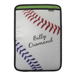 Baseball_Color Laces_nb_dr_autograph stil 1 MacBook Air Sleeve