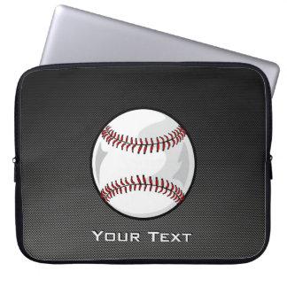 Baseball för kolfiberlook laptop fodral