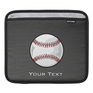 Baseball för kolfiberlook sleeve för iPads