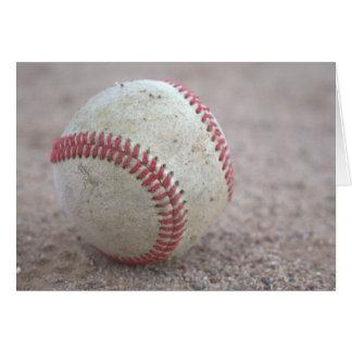 Baseball Hälsningskort