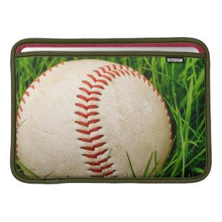 Baseball i sommargräset sleeve för MacBook air