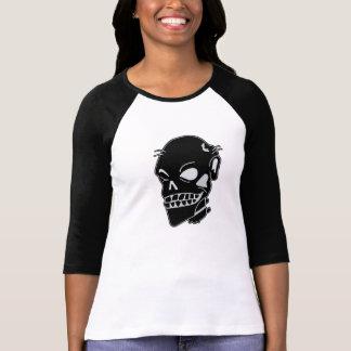 Baseball Jersey för chic damer för Zombie inpassad Tee Shirt