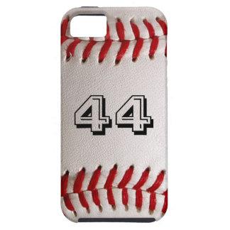 Baseball med anpassade numrerar iPhone 5 skal