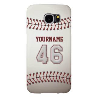 Baseball numrerar anpassningsbar 46 den kända galaxy s5 fodral