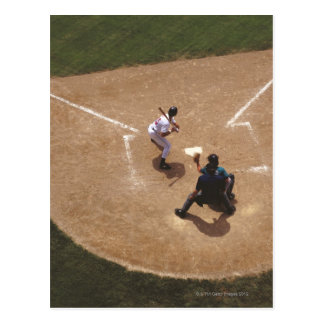 Baseball pläterar hemma vykort