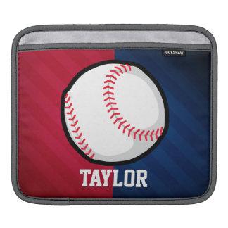 Baseball; Rött, vit och blått iPad Sleeve