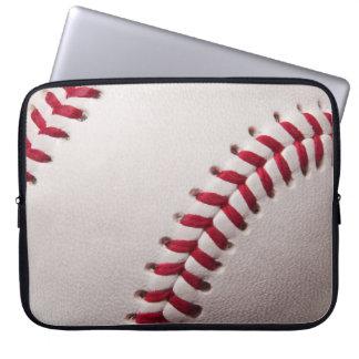 Baseball - skräddarsy baseballbakgrundsmallen laptop fodral