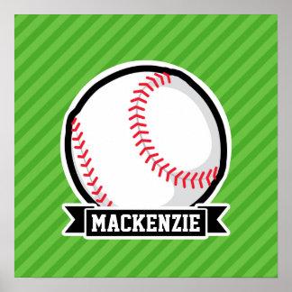 Baseball softball; Gröntrandar