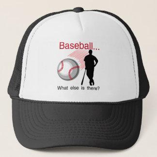 Baseball vad annat T-tröja och gåvor Truckerkeps