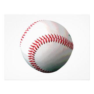 Baseballboll Reklamblad