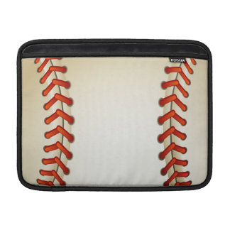 baseballbollar MacBook air sleeve