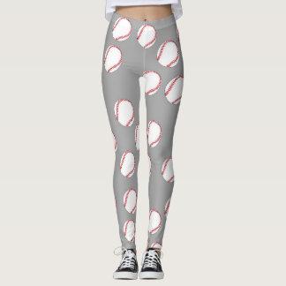 Baseballdamasker Leggings
