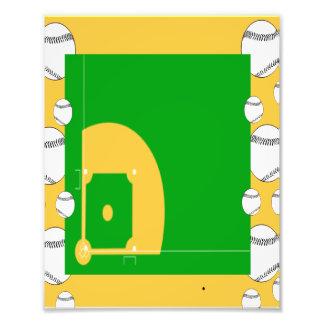 Baseballfält Fototryck