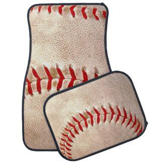 Baseballfläkt Bil Golvmatta