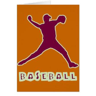 Baseballkannakort Hälsningskort