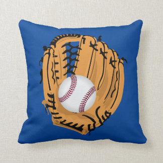 Baseballkarda och boll kudde