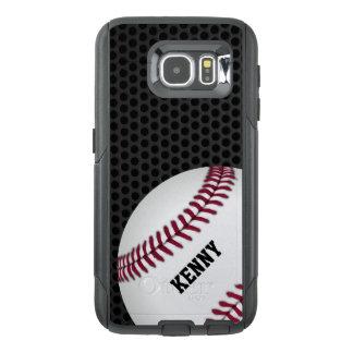 BaseballOtterbox Samsung S6 fodral