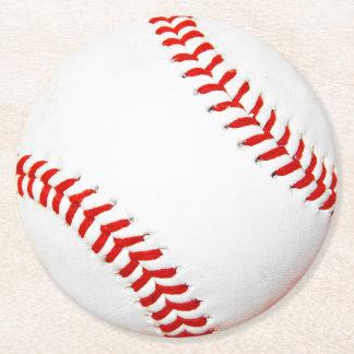 Baseballpappersunderlägg Underlägg Papper Rund